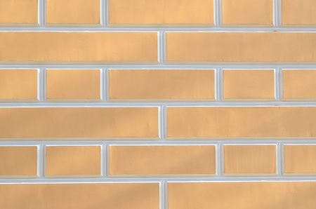 Beige brick wall background photo