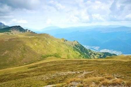 Mountain landscape in Transylvania, Sinaia, Romania Stock Photo - 15321442