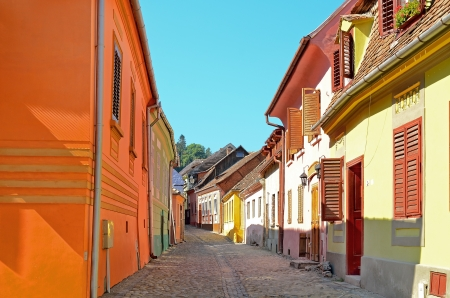Sighisoara medieval city, Transylvania, Romania Stock Photo - 15405676