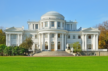 Yelagin palace in Saint-Petersburg, Russia