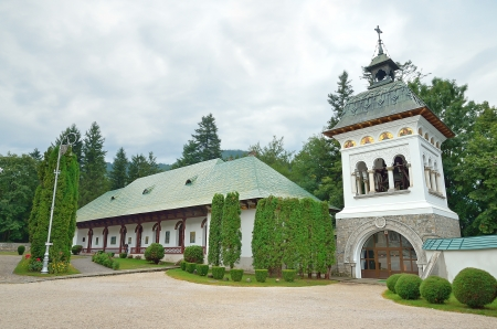 The Monastery in Sinaia, Romania Stock Photo - 16630651