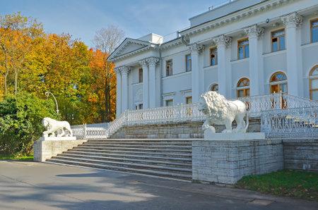 Yelagin palace in Petersburg, Russa  Editorial