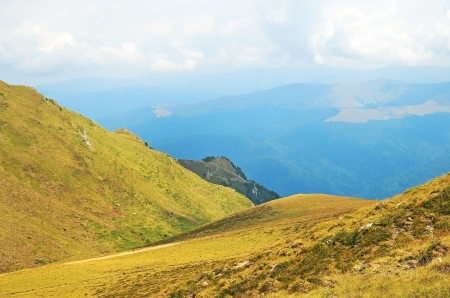 Carpathian Mountains in Transylvania, Romania in a summer. Stock Photo - 18643990
