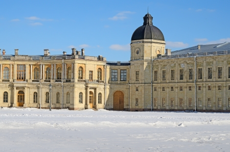 The Great Gatchina Palace in Gatchina, Russia