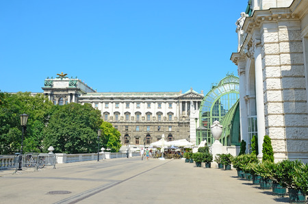 ethnology: VIENNA - JULY 28, 2013: Palmenhaus and Museum of Ethnology in Vienna.  Editorial