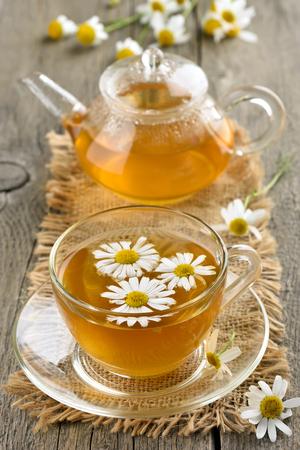 chamomile tea: Herbal chamomile tea. Country style