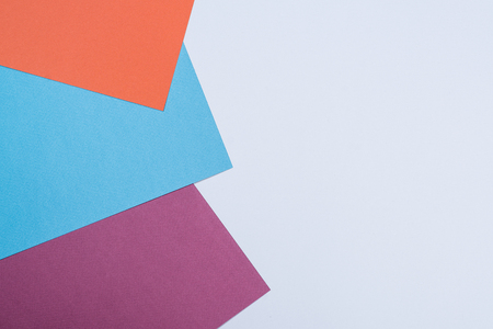 Color Of The Paper The Geometry Of A Flat Composition Background ...