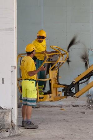 building site indoors photo