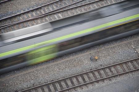 train in move Stock Photo - 7520400