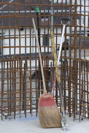 stilllife on building site photo
