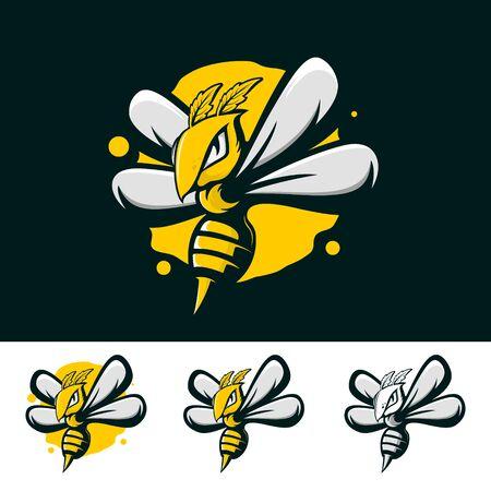 WILD BEE HONEY ILLUSTRATION