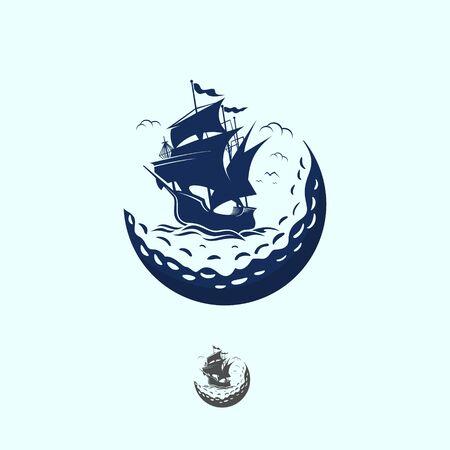 GOLF SHIP LOGO