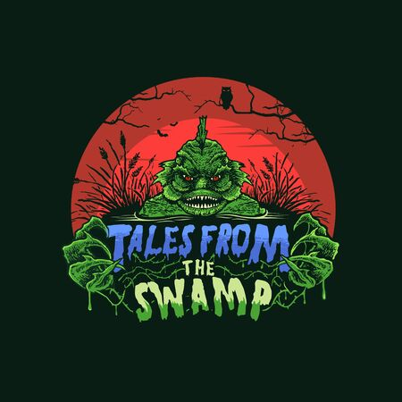 TALES FROM THE SWAMP 向量圖像