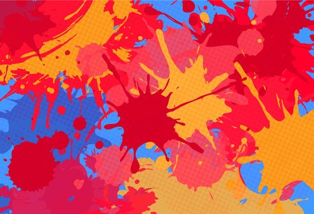 bright: amazing red splashes abstract bright colorful background