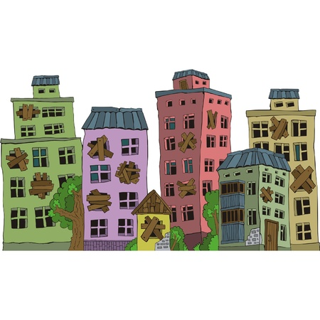 Background-house Vector
