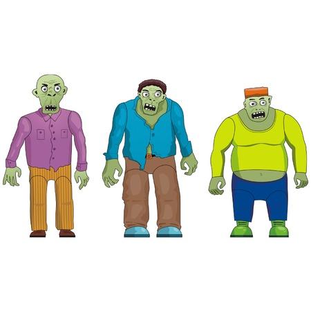people, zombi Фото со стока - 11945572
