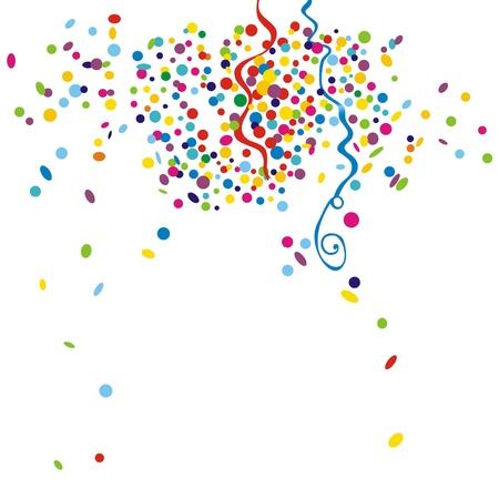 holiday celebrations: confetti