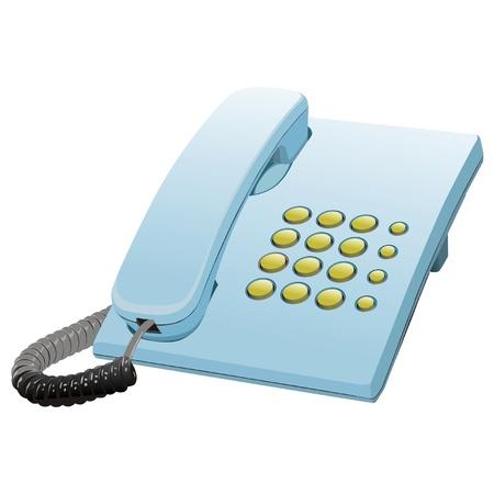 telefono antico: telefono Vettoriali