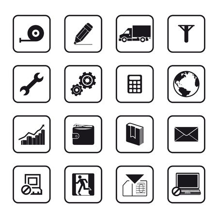 Set of vector transportation icon Vector