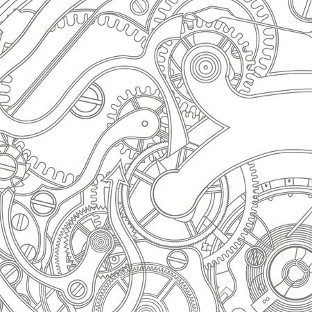 sin patrón de los artes Ilustración de vector