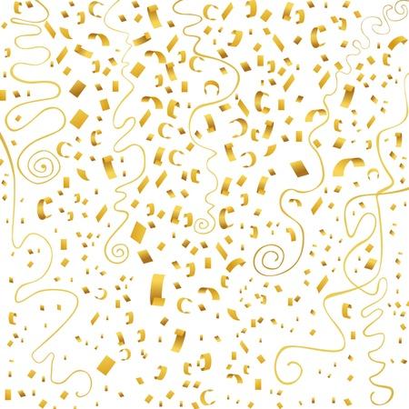 confetti (gold) Vector