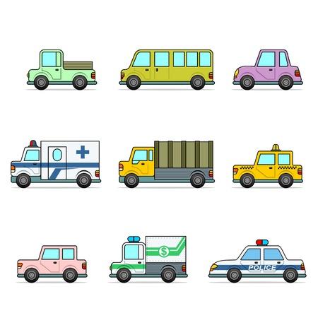 auto. vector illustration