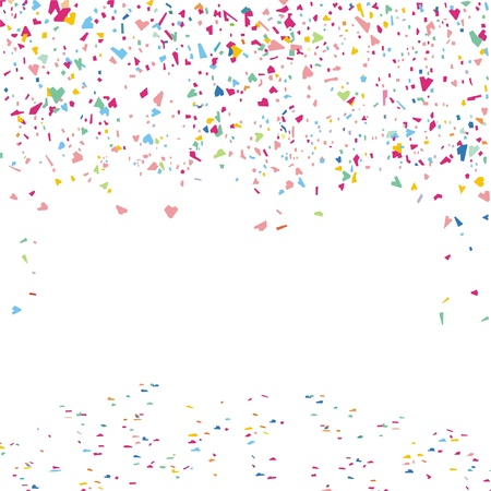 feste feiern: Konfetti Illustration