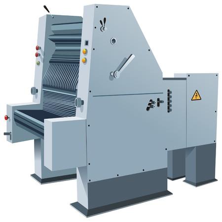 drukpers Vector Illustratie
