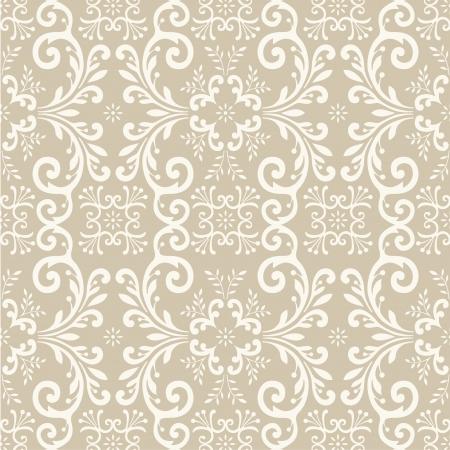 floral carpet: Seamless wallpaper pattern