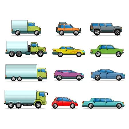 Vector car icons Vector
