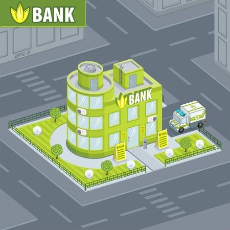 銀行の建物