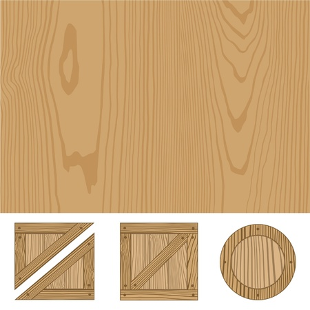 wooden texture  Stock Vector - 13517701