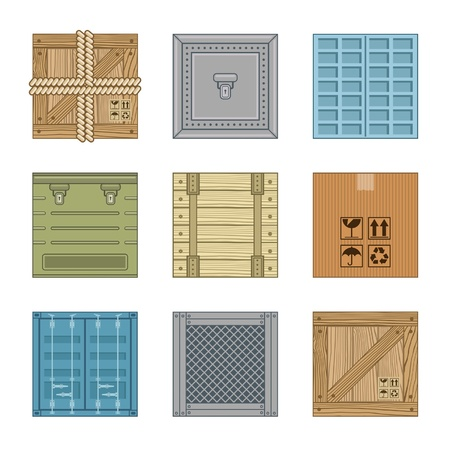 closed box: collection boxes