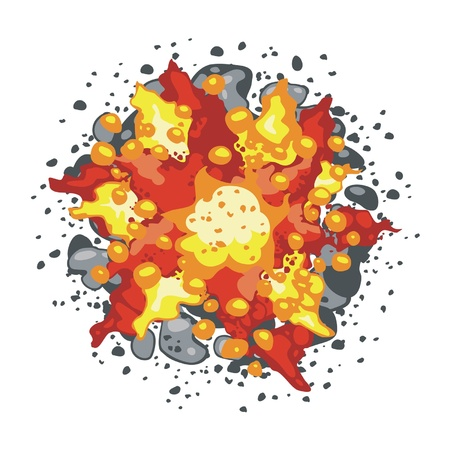 explosion Stock Vector - 14054388