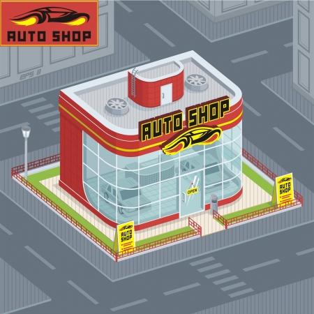 edifice: auto shop