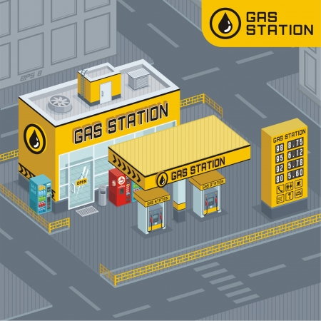 gas station: Gas station