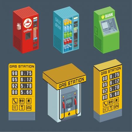 自動販売機  イラスト・ベクター素材