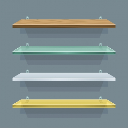 shelves Stock Vector - 14602534