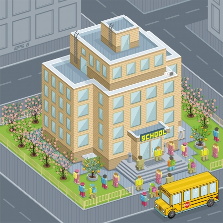 escuela edificio: Escuela
