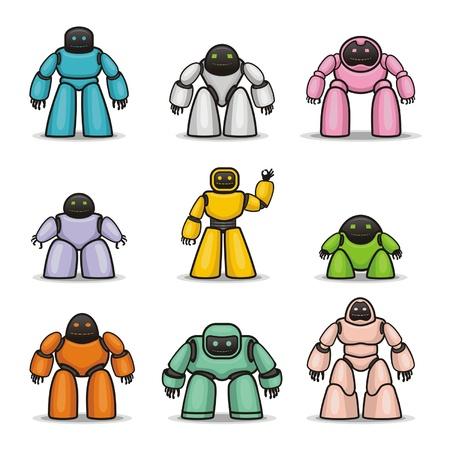Robots Stock Vector - 14799471