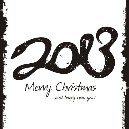 Happy new year 2013, colorful design Vector