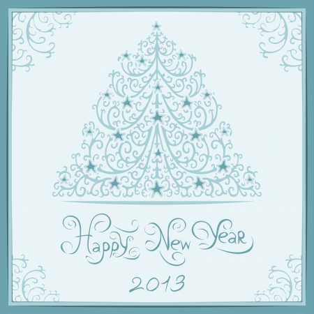 christmas card Stock Vector - 15761800