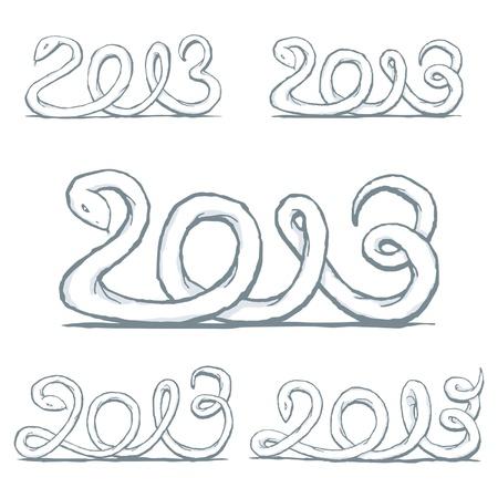 Happy new year 2013 Stock Vector - 16251779