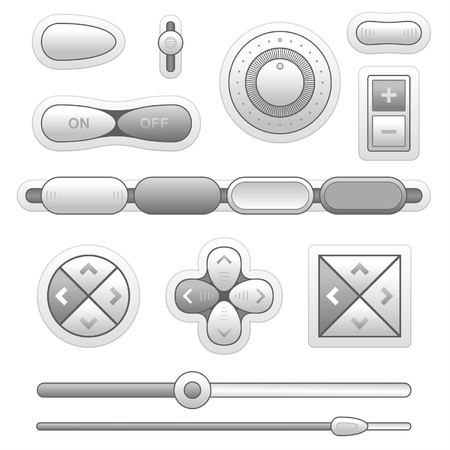 slider: button Illustration
