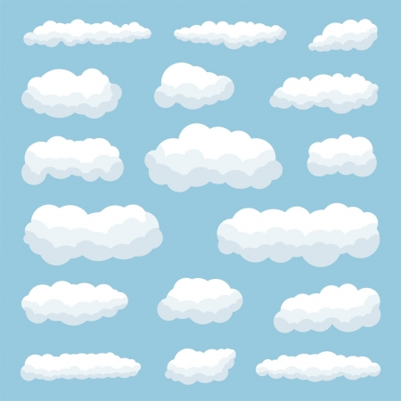 clouds Stock Vector - 19120822