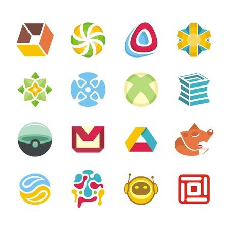 refresh icon: Logotype set