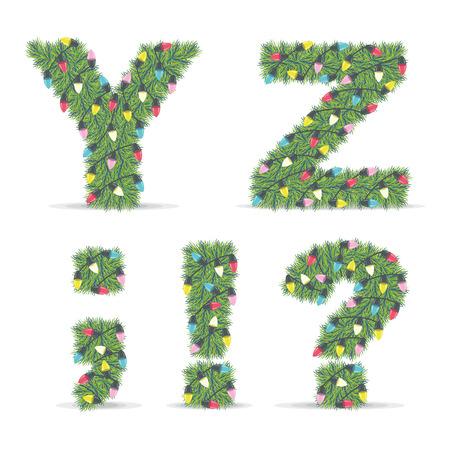 christmas characters: Christmas Alphabet