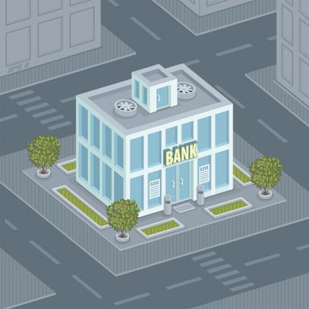 ファサードの銀行