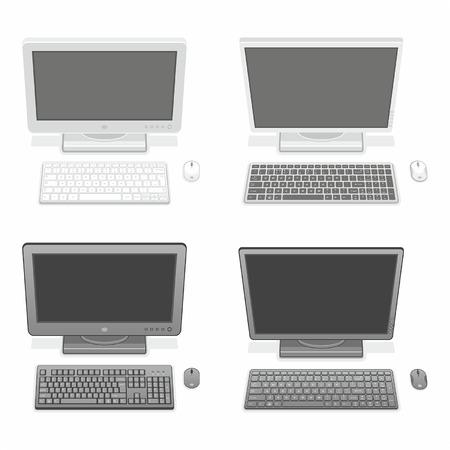 Computer Stock Vector - 24987878