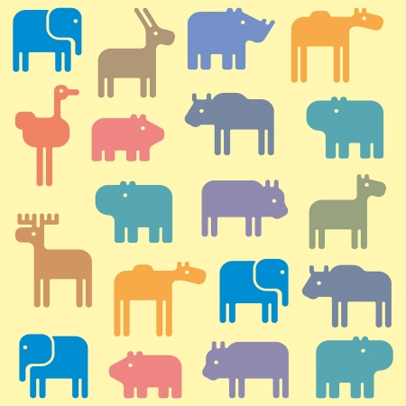 animal pattern Vector